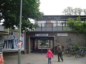 Lankwitz station - Lankwitz station from the north