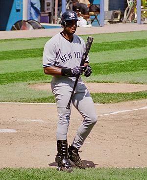 1999 New York Yankees season - Image: Bernie Williams 1999