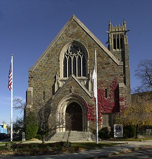 Bethany Congregational Church (Quincy, Massachusetts) - Image: Bethany Congregational Church Quincy MA 01