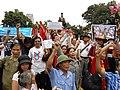 Biểu tình phản đối Trung Quốc tại Hà Nội sáng 8.7.2012.JPG
