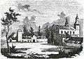 Biaroza Kartuskaja, Klaštarnaja. Бяроза Картуская, Кляштарная (B. Podbielski, 1861).jpg
