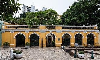 Culture of Macau - Robert Ho Tung library in Macau.
