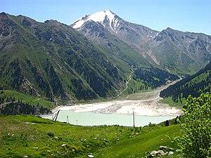 Ile-Alatau National Park - View of Big Almaty Lake