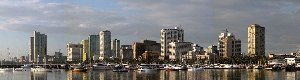 Ang Maynila sa pagkakakita sa Harbour Sqaure, ito ang poblasyon ng