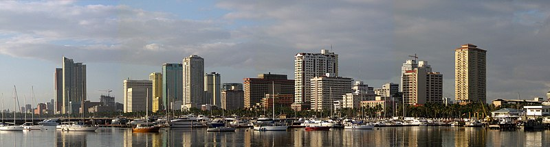 Panorama von Manila