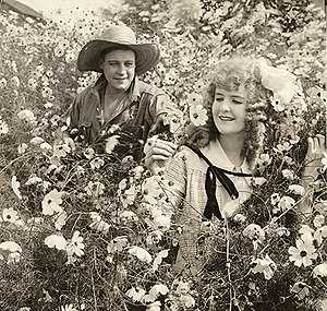 May Allison - Harold Lockwood and May Allison in a scene still for the 1916 silent drama Big Tremaine.