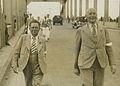 """Bij deze persfoto staat de volgende tekst- """"Arnhem, 8 augustus 1939. TWEE BEKEND – F41014 – KNBLO.jpg"""
