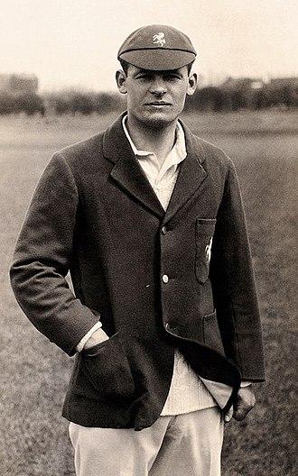 Bill Ashdown - Ashdown in about 1932