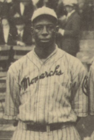 Bill McCall (baseball) - McCall at the 1924 Colored World Series