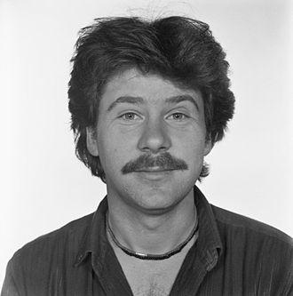 Bill van Dijk - Bill van Dijk in 1982