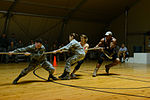 Billy Blanks, Gladiators challenge TCM troops 130402-A-IO592-005.jpg