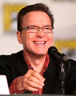 Billy West - West on a panel for Futurama at the 2012 Comic Con in San Diego.