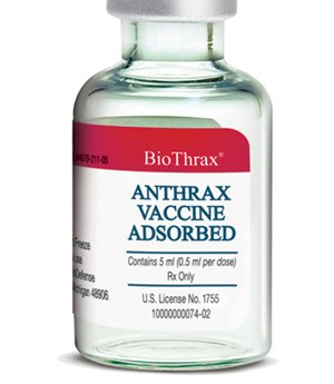 Emergent BioSolutions - Anthrax Vaccine Adsorbed
