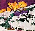 Birches in Autumn Augusto Giacometti (1910).jpg