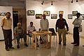 Biswatosh Sengupta Addressing - Inaugural Function - Atanu Ghosh Solo Exhibition - Kolkata 2014-09-16 8069.JPG