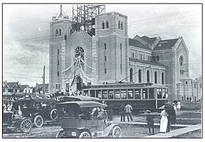 Holy Rosary Cathedral (Regina, Saskatchewan) - Blessing of Holy Rosary Cathedral, 1913
