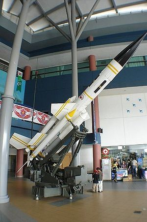 Bloodhound (missile) - Bloodhound of the Republic of Singapore Air Force.