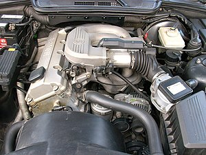 BMW M44 - M43 engine- the M44 has a similar appearance, except for the airflow meter