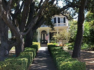 National Register of Historic Places listings in Santa Cruz County, California - Image: Bockius House