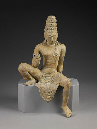 Bodhisattva - Bronze statue of the bodhisatta Avalokiteśvara. Sri Lanka, ca. 750 CE.