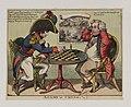 Bodleian Libraries, A game at chess- Napoleon Bonaparte premier consul s'est rendu à Notre Dame pour y entendre la Sainte Messe célébrée par.jpg