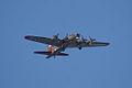Boeing B-17G-85-DL Flying Fortress Nine-O-Nine Arrival Pass 02 CFatKAM 09Feb2011 (14797386857).jpg