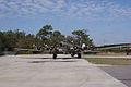 Boeing B-17G-85-DL Flying Fortress Nine-O-Nine Landing Taxi 28 CFatKAM 09Feb2011 (14797319268).jpg