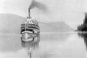 Bonnington (sternwheeler) - Bonnington on Arrow Lakes