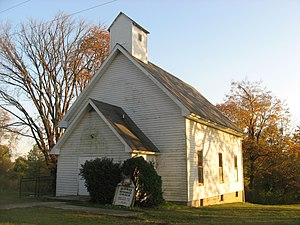 Bono, Lawrence County, Indiana - Bono United Methodist Church, built in 1880