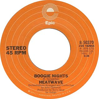 Boogie Nights (song) 1977 single by Heatwave