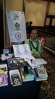 BookSwapping at Wikimania 2018 20180722 151806 (24).jpg