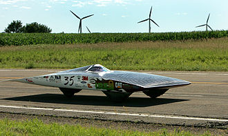 Green vehicle - Solar vehicle