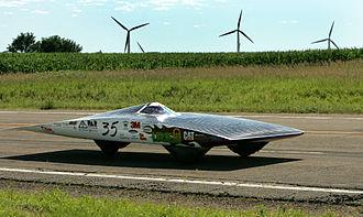 Solar power in Minnesota - University of Minnesota solar car