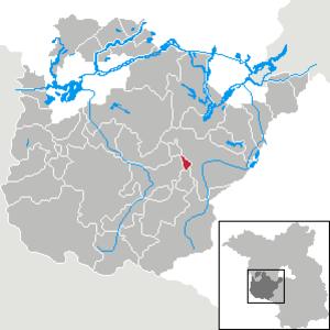 Borkheide - Image: Borkheide in PM
