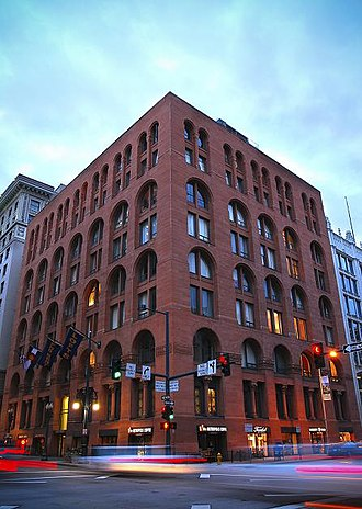 Boston Building - Image: Boston building night