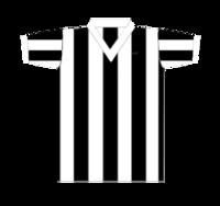 O Botafogo voltou a jogar com camisas sem o escudo. Apesar desta camisa ser  de manga longa e6fff7949afd9