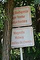 Boundary sign AT-SI at Grenzgasthaus Mertschnigg (Bonisdorf-Kuzma).jpg
