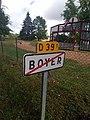 Boyer (Loire) - Panneau sortie (août 2020).jpg