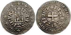 John II, Duke of Brabant - John II: Gros tournois.