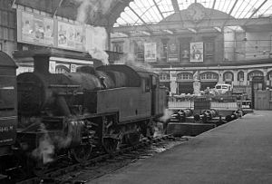 Bradford Interchange - Internal view in 1961