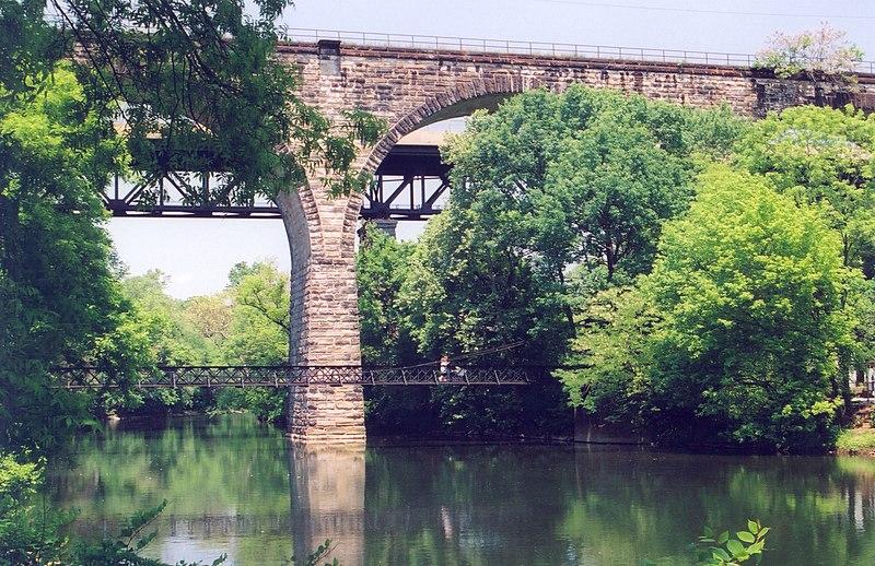 File:Brandywine Valley Scenic Byway - Stone Bridge Over the Brandywine River - NARA - 7717447.jpg