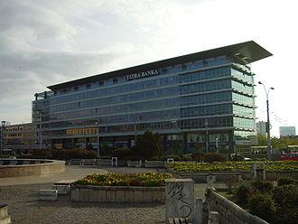 Hodžovo námestie - Tatracentrum