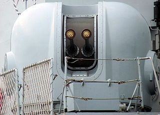 close-in weapon system for defense against anti-ship missiles
