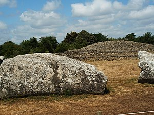 Prehistory of Brittany - The Grand Menhir Brisé and Table des Marchand at Locmariaquer