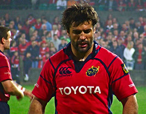 Brian Carney (rugby) - Carney playing for Munster in 2007