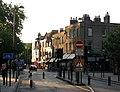 Bridge Street, evening light and rising bollards - geograph.org.uk - 1892234.jpg