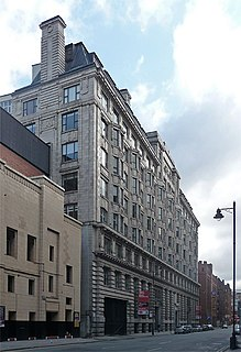 Bridgewater House, Manchester warehouse in Manchester, England