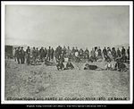 Brigham Young and party at Colorado River 1870 C.R. Savage..jpg