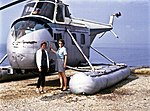 Bristol Helicopter, 1963, ride over Port of Spain.jpg
