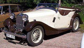 British Salmson - 1935 British Salmson 12/70 S4C